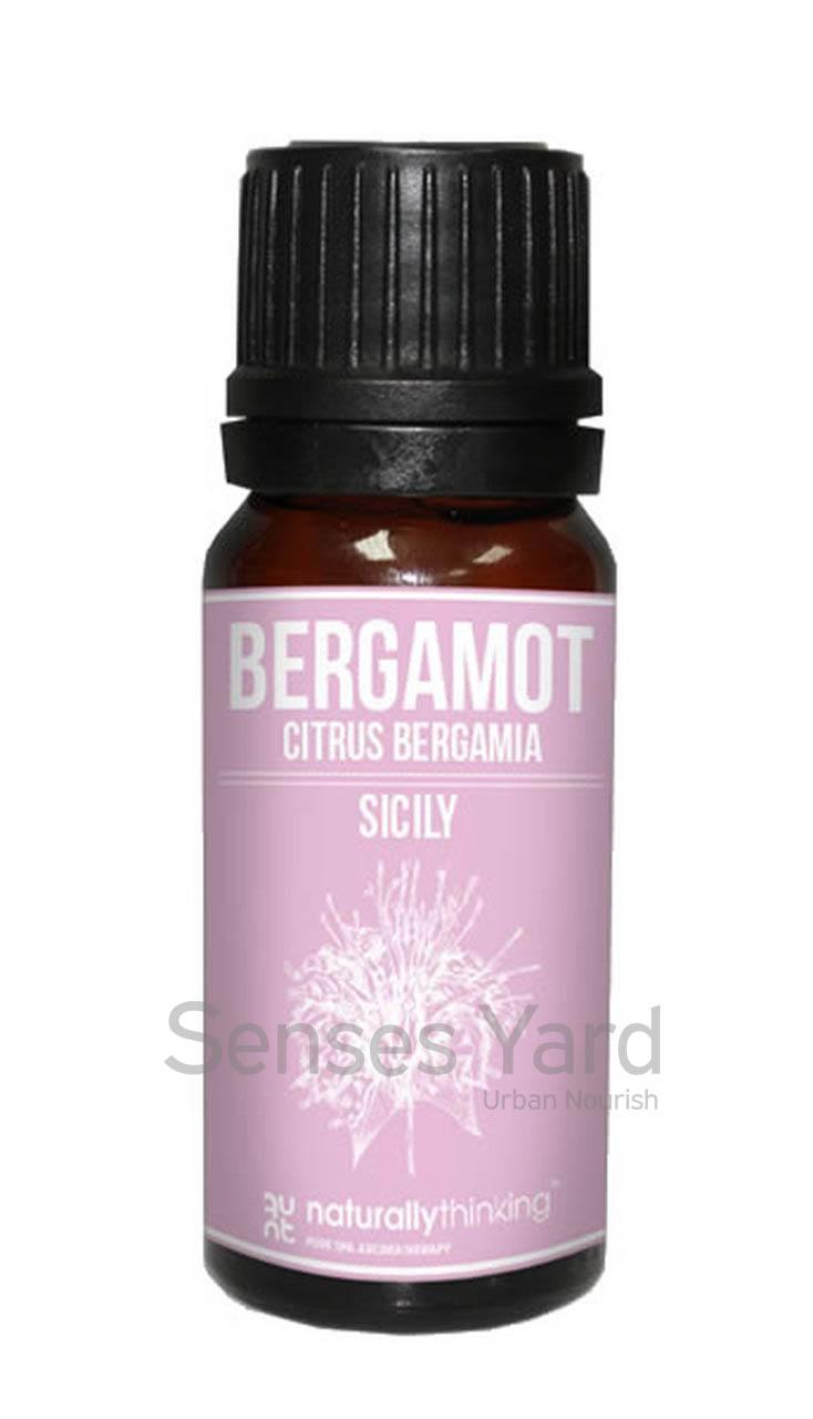 Bergamot Essential Oil (FCF Free) / 佛手柑精油(除光敏感)的功效:振奮精神/抗菌。Quality Essential Oil from Naturallythinking.