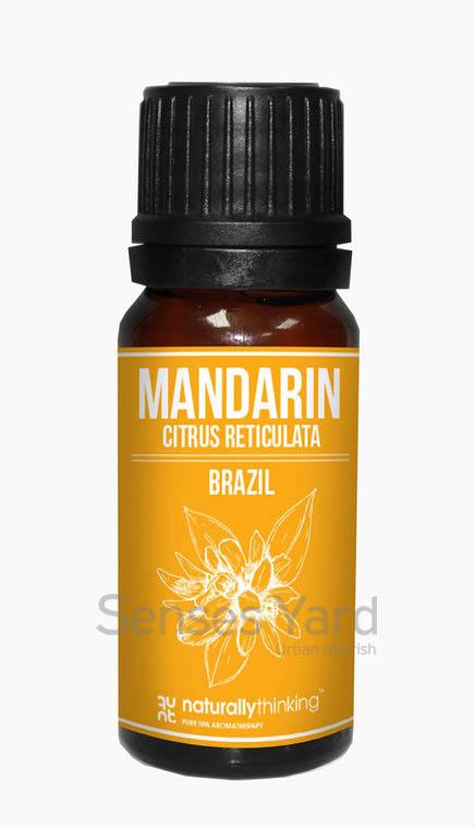 Mandarin Essential Oil / 蜜柑精油的功效:提升愉快情緒/緩解消化不良。Quality Essential Oil from Naturallythinking.