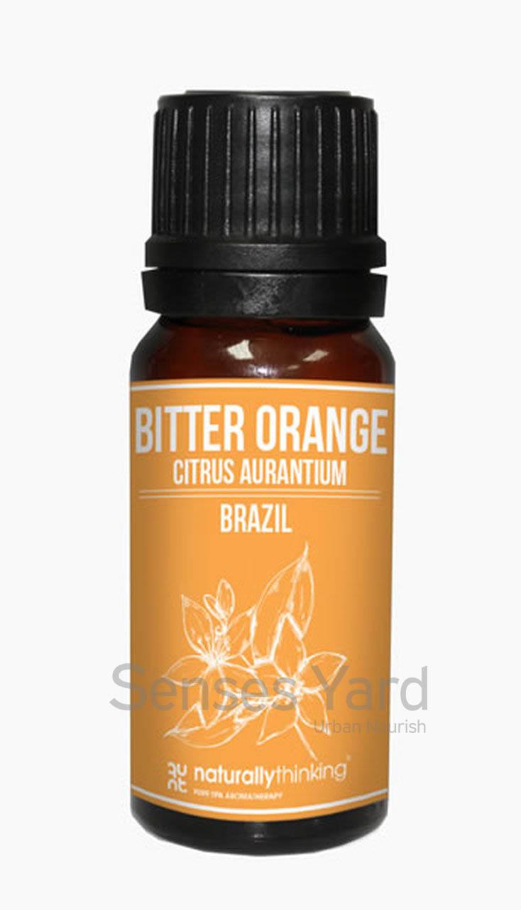 Orange (Bitter) Essential Oil / 苦橙精油的功效:振奮精神/改善血液循環/適當調配可以幫助身體排毒。Quality Essential Oil from Naturallythinking.