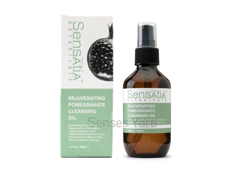 Rejuvenating Pomegranate Cleansing Oil / 石榴潔面油由天然植物成份混合配製,能清除頑固污垢及化妝品,含有豐富抗氧化物,有效提亮膚色。適用肌膚:敏感肌膚或成熟肌膚。主要成份:石榴油Pomegranate Oil、摩洛哥堅果油Argan Oil、五味子Schizandra Berries.