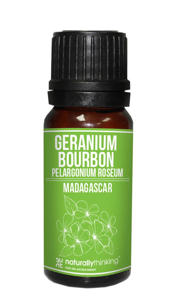 Geranium Bourbon Essential Oil / 波旁天竺葵精油的功效:治癒瘀傷及燒傷/有助皮膚控油/振奮提神,安穩/改善微血管循環。Quality Essential Oil from Naturallythinking.