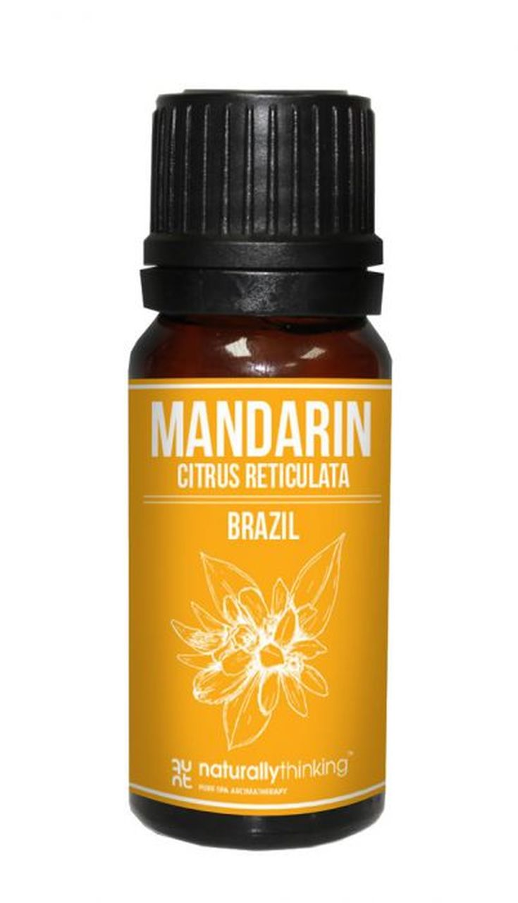 Mandarin Essential Oil / 蜜柑精油的功效:提升愉快情緒/緩解消化不良。Quality Essential Oil from Naturallythinking.