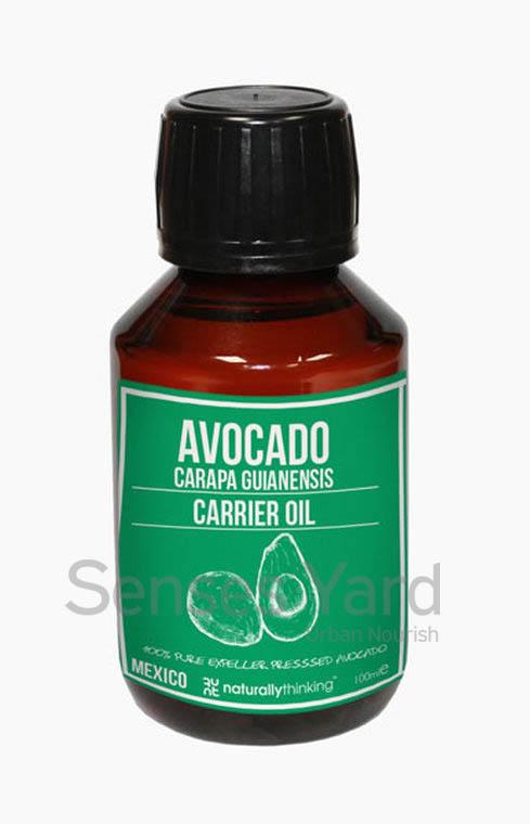 Avocado Carrier Oil / 牛油果基底油含有豐富的維他命及必需脂防酸/高度滲透皮膚,深層滋潤乾燥肌膚/具有治療功效,軟化肌膚,促進肌膚細胞再生,恢復肌膚活力 針對滋潤因天氣受損的肌膚/可以與護髮素混合使用,有助滋潤頭髮。Quality Carrier Oil from Naturallythinking.