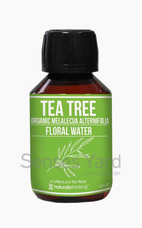 Tea Tree Floral Water / 茶樹花水具有抗菌及抗真菌特性,能消除毛孔中的細菌而不會堵塞皮膚,有效治療暗瘡粉刺,有助調整膚色。適用肌膚:暗瘡肌膚。*No preservatives and no alcohols, 100% pure from Naturallythinking.