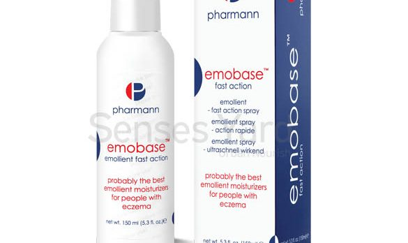 醫學級品牌Pharmann Emobase™ emollient fast action spray快速補濕噴霧(無香料、低致敏)獨特輕盈的「水油」雙效特性,能迅速為乾燥皮膚、脫皮皮膚、痕癢皮膚、曬傷皮膚或其他問題皮膚 (例如牛皮癬、濕疹等)人士提供滋潤保濕效果。適用於面部及全身。