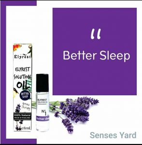 Elyrest Solution Oil Roll-On No.1 Better Sleep/有助入睡香薰精油 sensesyard