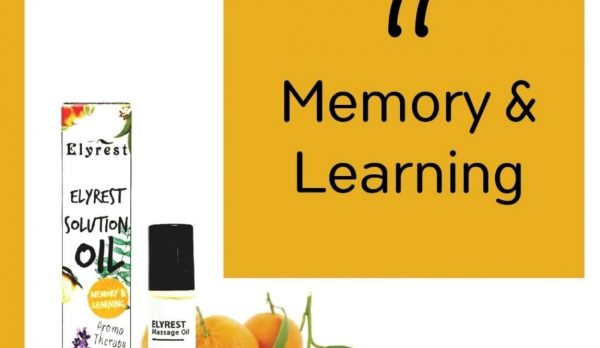 Elyrest Solution Oil Roll-On No.11 Memory & Learning/改善記憶及學習香薰精油