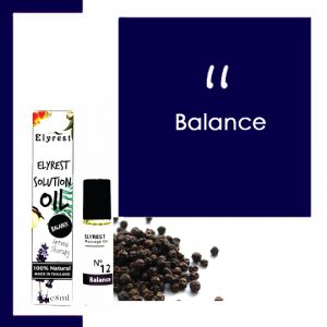 Elyrest Solution Oil Roll-On No.12 Balance / 平衡身心香薰精油 SENSESYARD