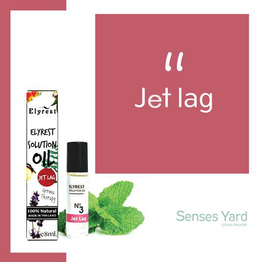 Elyrest Solution Oil Roll-On No.3 Jet Lag/擊退時差香薰精油 SENSESYARD