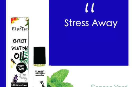 Elyrest Solution Oil Roll-On No.6 Stress Away/舒緩壓力香薰精油 sensesyard