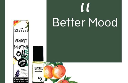 Elyrest Solution Oil Roll-On No.8 Better Mood/令人心情愉快香薰精油 sensesyard