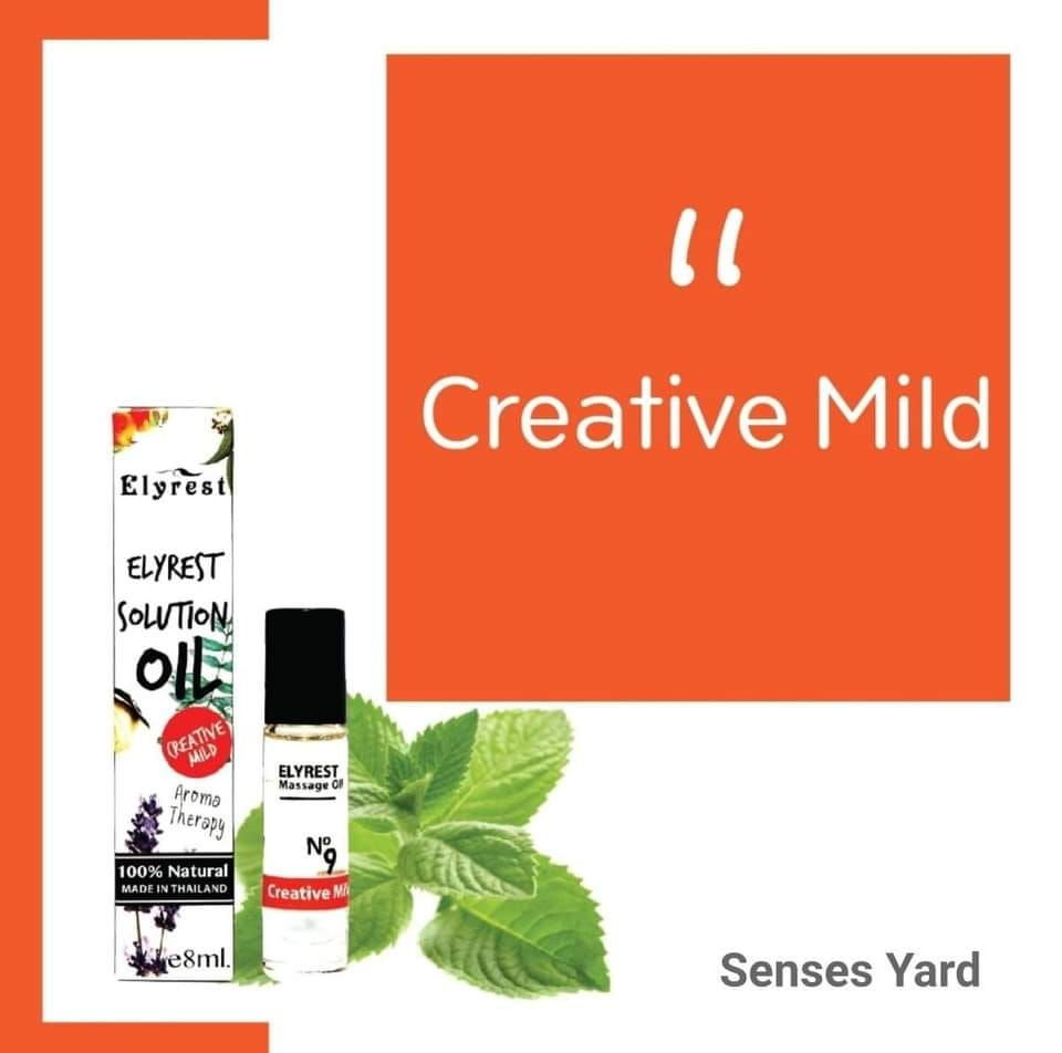 Elyrest Solution Oil Roll-On No.9 Creative Mild/提升靈感香薰精油 sensesyard