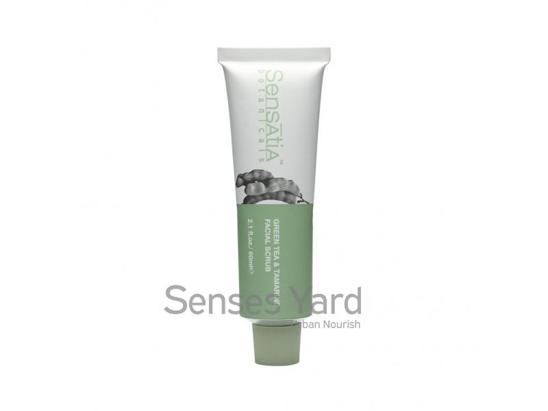 Green Tea & Tamarind Facial Scrub / 綠茶羅望子面部磨砂